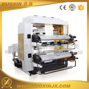 Nx-2800 LDPE Bag Film 2 Colors Flexo Printing Machine pictures & photos