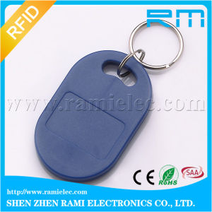Professional Waterproof 125kHz&13.56MHz Dual-Frequency RFID Key Fob/ Key Chain