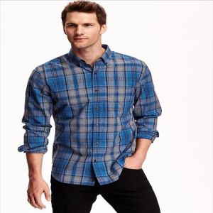 2016 OEM Top Quality Fashion 100% Men Cotton Shirts pictures & photos