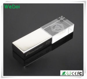 Hot Selling Crystal USB Flash Drive with 1 Year Warranty (WY-D25) pictures & photos