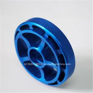 Blue Anodized Precision Machining Parts for Auto Parts