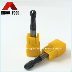 HRC45 Economic 2flutes Ball Nose Carbide Tool for Stainless Steel pictures & photos