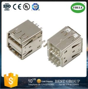 USB 3.0 a Type Female USB Connector pictures & photos