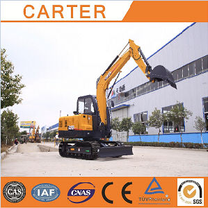 CT60-8b (Yanmar engine&6t) Multifunction Hydraulic Backhoe Mini Excavator pictures & photos