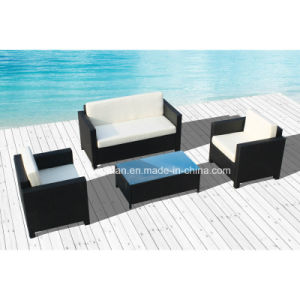 Wicker Sofa for Outdoor with Steel Frame SGS (SD8205) pictures & photos