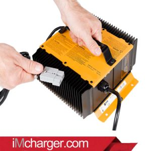 48 V 25 a Portable Battery Charge for Cushman Vehicles Series pictures & photos