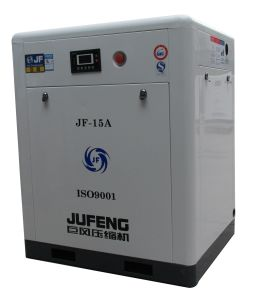 High Efficiency Air Compressor Jufeng Jf-15A Belt Driven