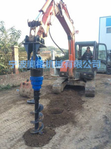 "12"" Tractor Post Hole Digger in One Compelete pictures & photos"
