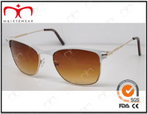 Fashionable Hot Selling UV400 Protection Metal Sunglasses (KM14278) pictures & photos