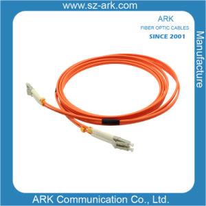 LC-LC Multimode Duplex Fiber Optic Cable/Patchcord pictures & photos