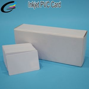 86*54*0.76cm Free Samples Direct Inkjet Print PVC Card Supplier pictures & photos