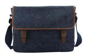 Hot Sale Man Fabric Shoulder Bag Cheap Jean Bag Sh-16050923 pictures & photos