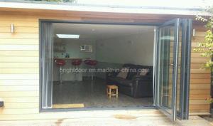 Aluminium Soundproof Outdoor Folding Door Prices Glass pictures & photos