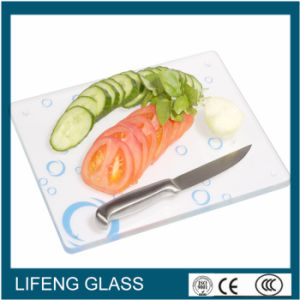 Silk Screen Printing Tempered Cutting Board Glass