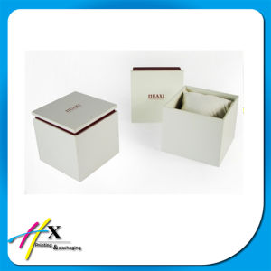Luxury Design Cardboard Watch Packaging Box with Pillow Inserted pictures & photos