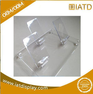 Clear Knife Acrylic Make up Display Coinled LED Table Menu Pen Cell Phone Brochure Nail Polish Cigarette Pocket Glasses Note Holder pictures & photos