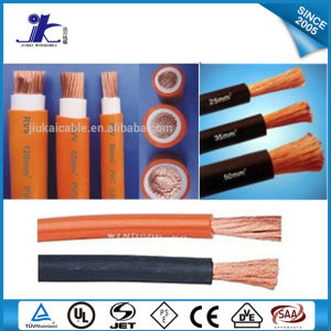 Black PVC/Rubber Insulation Welding Cable pictures & photos