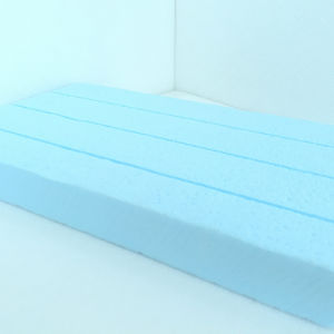 Fuda Extruded Polystyrene (XPS) Foam Board B1 Grade 150kpa Blue 20mm Thick Slotted