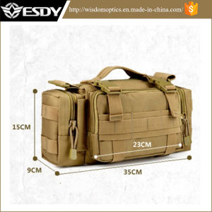 Tan Military Molle Army Hunting Shoulder Waist Pouch Bag pictures & photos