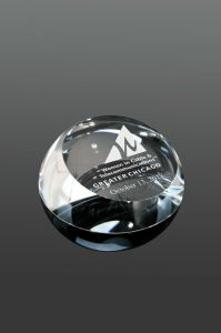 Dome Crystal Paperweight Gift (#5637) pictures & photos