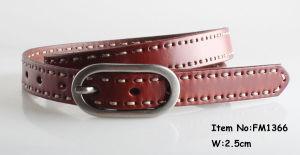 Fashion Ladies Leather Belts (FM1366 (2)) pictures & photos