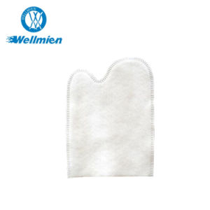 Disposable 120g Cotton/ Nonwoven Hand Shape Cleaning Glove pictures & photos