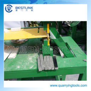 Manual Stone Mosaic Cutting Machine pictures & photos