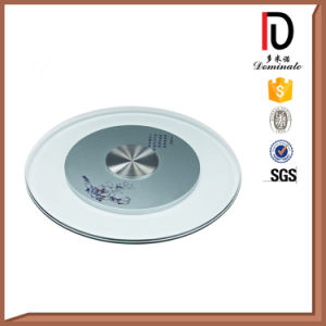 31.5 Inch Aluminum Wedding Glass Table Top Lazy Susan (BR-BL010) pictures & photos