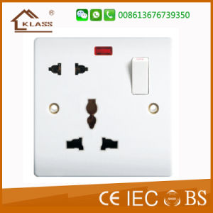 Hot Sale 4 Gang Electronic Wall Switch pictures & photos