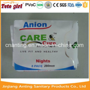 Best Lady Sanitary Pad Price, Disposable Cotton Anion Sanitary Napkin Manufacturer Export to India pictures & photos