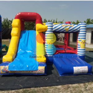 New Arrival Inflatable Pika Theme Castle House for Jumping Outdoor Inflatable Games pictures & photos