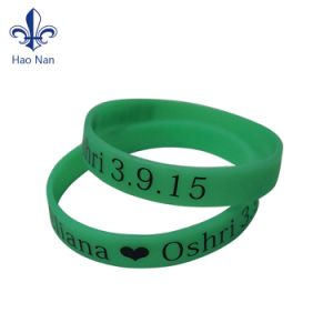 Hot Selling Variety High Quality Silicone Wristband for Promotion Activity pictures & photos