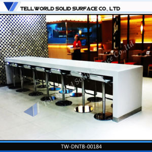 Corian Solid Surface Restaurant Table Marble Table pictures & photos