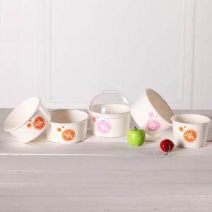 4oz Custom Logo Printed Ice Cream Paper Cup pictures & photos