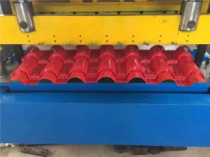 Steel Sheet Glazed Tile Cutting Machinery pictures & photos