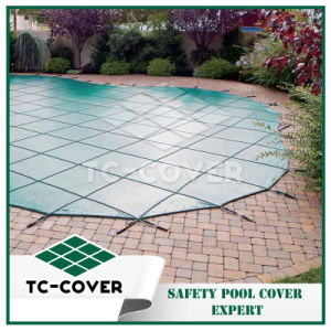 PP Material Mesh Fabric Roll for Pool Cover pictures & photos