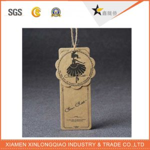 Best Price OEM Custom Garment Accessories Kraft Paper Hang Tag pictures & photos