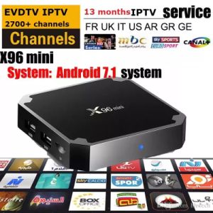 X96 Mini with Evdtv IPTV Box French Arabic Turky UK Italy Kurd Germany IPTV Channels pictures & photos