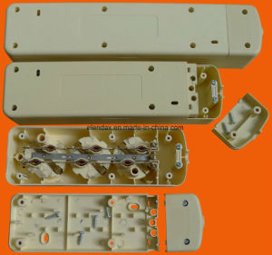 5-Way European Extension Strip Socket and Switch with Grounding (E9005ES) pictures & photos