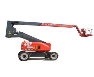 Hot Sale Articulating Boom Lift with Max Working Height 26.6m pictures & photos