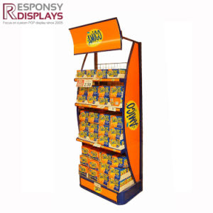 Customized Store Display Rack Supermarket Rack Cookie Display Box Store Shelf pictures & photos