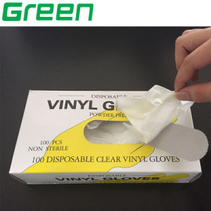 PVC Vinyl Disposable Single Only Use Gloves pictures & photos