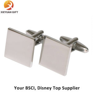 Wholesale Gold Plated Stainless Steel Cufflink pictures & photos