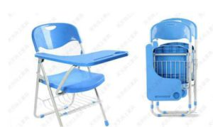 Cheap Plastic School Node Training Chair with Writing Pad Sf-51f pictures & photos