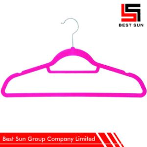 Custom Velvet Clothes Hangers, Non Slip Hangers Wholesale pictures & photos