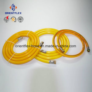 High Tensile Polyester Reinforcement PVC High Pressure Spray Hose pictures & photos