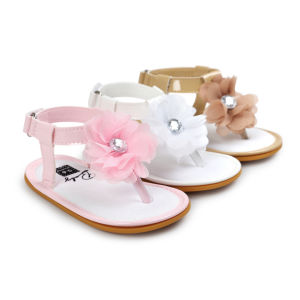 Baby Girl Summer Prewalker Sandals First Walkers Various Colors pictures & photos