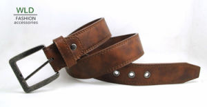 Classic and Basic Man Belt with Split Leather Linning M607 pictures & photos
