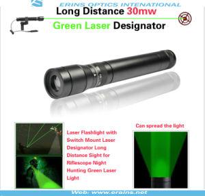 New Long Distance 30mw Green Laser Designator / Sight (ES-G25-L) pictures & photos