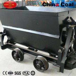 Hot Sale! Kfu Series Bucket-Tipping Mine Car pictures & photos